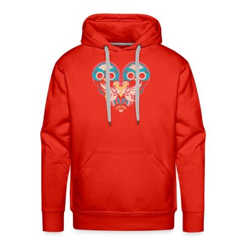hearts of owls - Men's Premium Hoodie