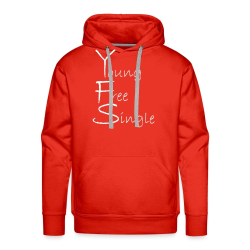 Young Free Single from Bent Sentimenta - Men's Premium Hoodie
