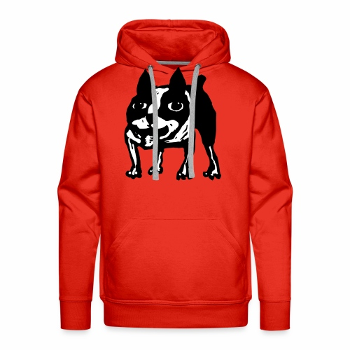 Mad Dog Boston Terrier - Men's Premium Hoodie