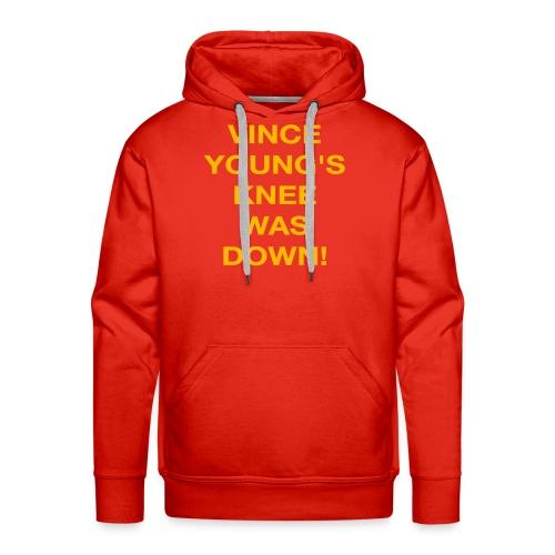 Vince Young's Knee Was Down - Men's Premium Hoodie
