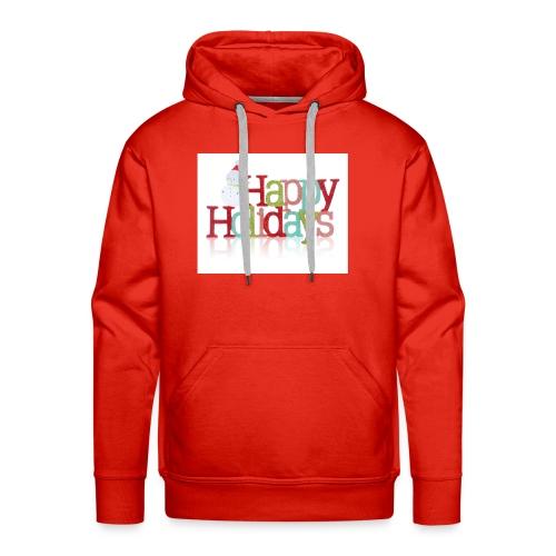 Happy Holidays - Men's Premium Hoodie