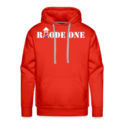 Rhode One logo - Men's Premium Hoodie
