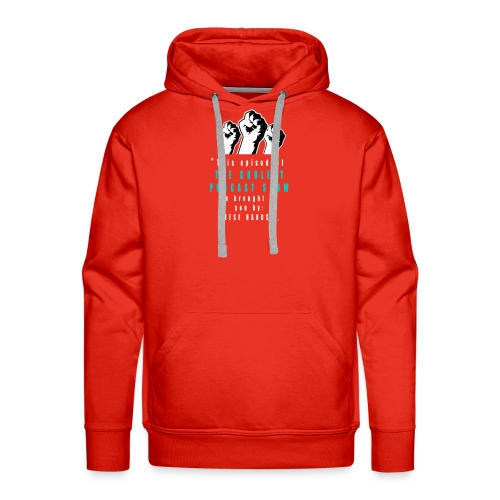 THESE_HANDS_FRONT_1-11_LARGE - Men's Premium Hoodie