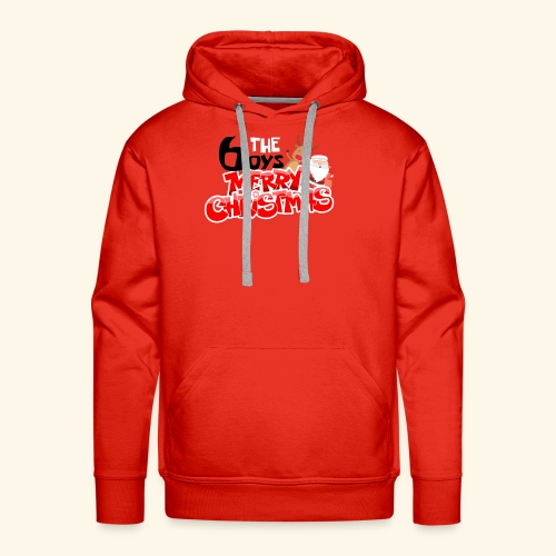 The 6oys Christmas Edition - Men's Premium Hoodie