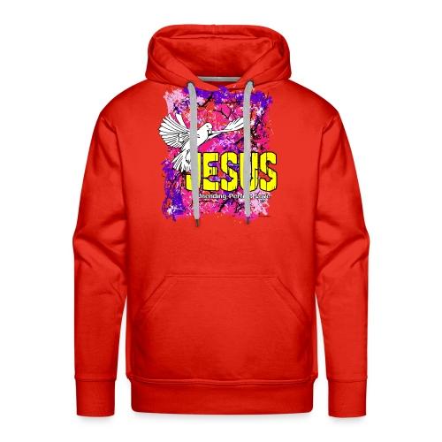 JESUS UNENDING PERFECT LOVE - Men's Premium Hoodie