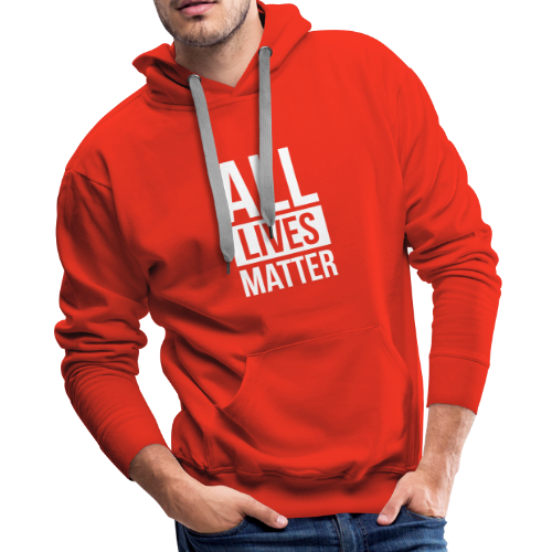 All Lives Matter - Men's Premium Hoodie