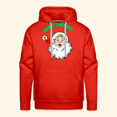 merry christmas santa claus - Men's Premium Hoodie