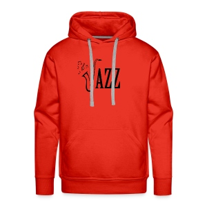 Jazz Shirt for Musicians - Cool Music Lovers shirt - Men's Premium Hoodie