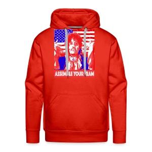 Assemble your Team Funny Olympics Shirt - Men's Premium Hoodie