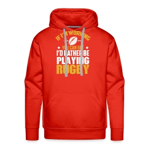 Great Gift Ideas For Rugby Lover. - Men's Premium Hoodie