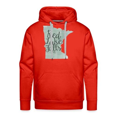 Red Lake Falls Long Sleeve Shirt - Men's Premium Hoodie