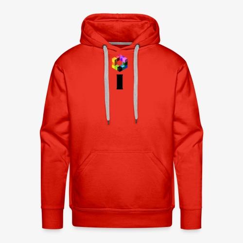 iBrick i logo - Men's Premium Hoodie