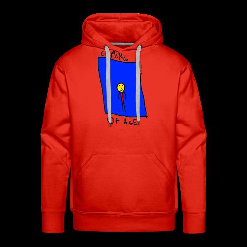 Coming of age hoodie - Men's Premium Hoodie