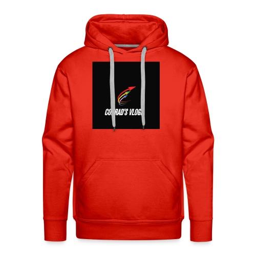 Conrad's vlogs t-shirt - Men's Premium Hoodie