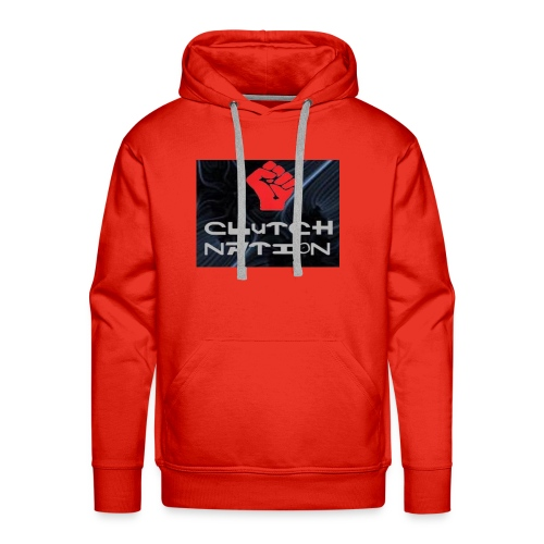 clutchnation logo merch - Men's Premium Hoodie