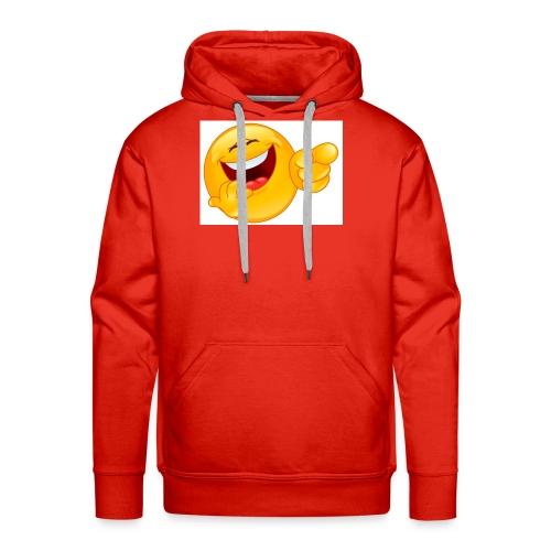 emoticon - Men's Premium Hoodie