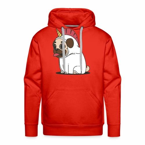 Pug Love - Men's Premium Hoodie