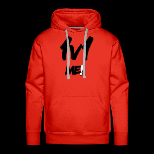 1v1 T-shirt - Men's Premium Hoodie