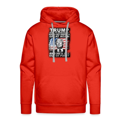 Trump is Here! - Men's Premium Hoodie
