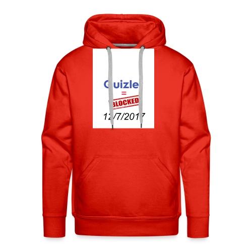 Quizlet Blocked - Men's Premium Hoodie