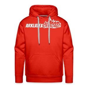 ArkLaTex 2018 Black and White logo - Men's Premium Hoodie