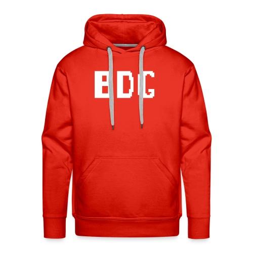 BDG 8-Bit Design White - Men's Premium Hoodie