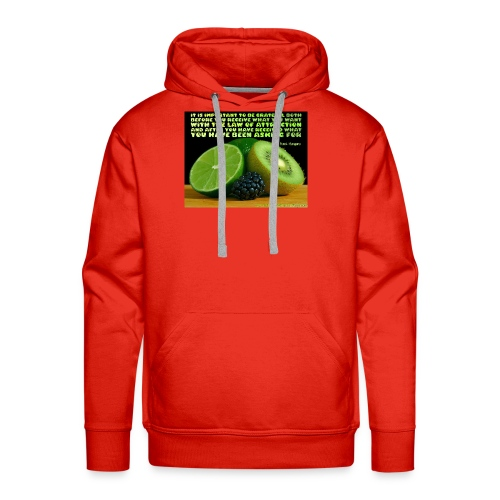 Be Grateful - Men's Premium Hoodie