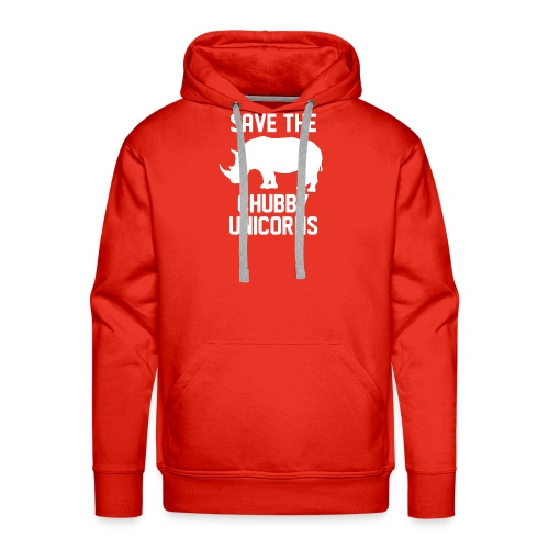 Save The Chubby Unicorns - Men's Premium Hoodie