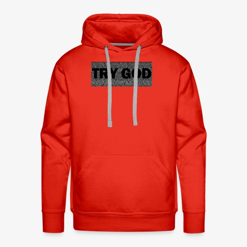 Try God - Men's Premium Hoodie