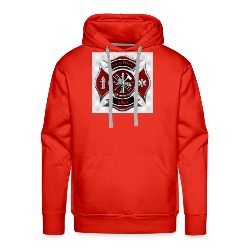 In THE LOVING MEMORY OF FIREFIGHTER COREY PENNY - Men's Premium Hoodie