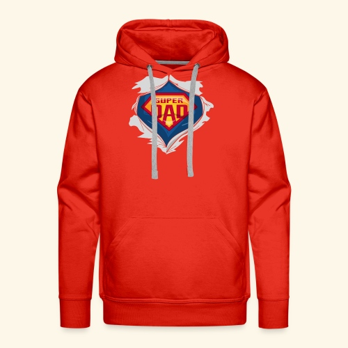 super dad - Men's Premium Hoodie