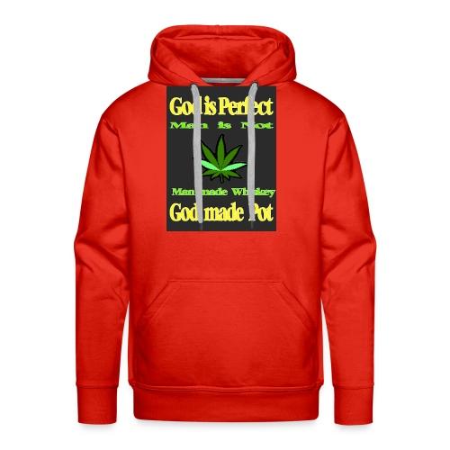 God made Pot - Men's Premium Hoodie