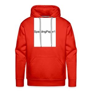 SparklingPaper1 - Men's Premium Hoodie