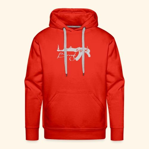 Gray AK. - Men's Premium Hoodie