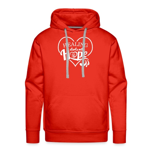 Healing with Hope - Men's Premium Hoodie