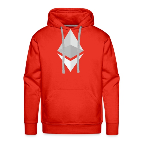 Ethereum Logo Light - Men's Premium Hoodie
