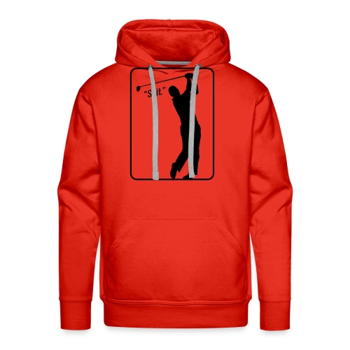 Golf Shot Shit. - Men's Premium Hoodie