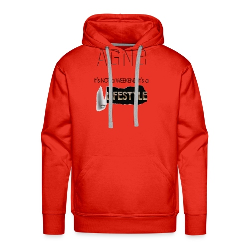 ITs not a weekend its a Lifestyle - Men's Premium Hoodie