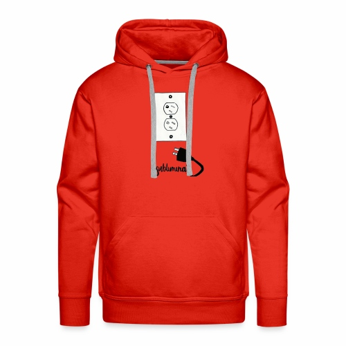 #Unplug - Men's Premium Hoodie