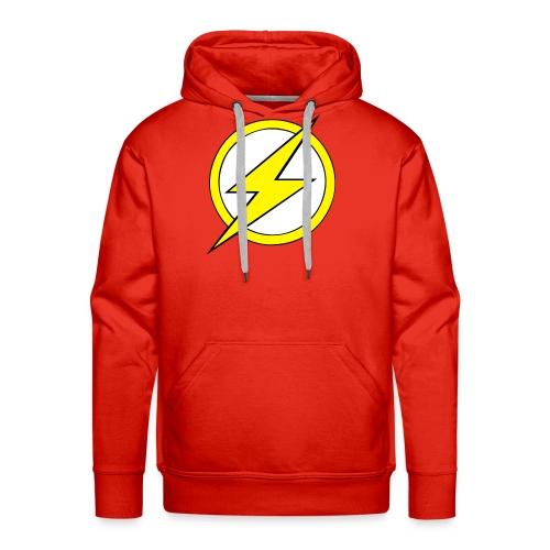Kid Flash Logo - Second Channel - Men's Premium Hoodie