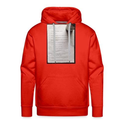 copywriting - Men's Premium Hoodie