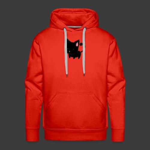 black cat hoodie - Men's Premium Hoodie