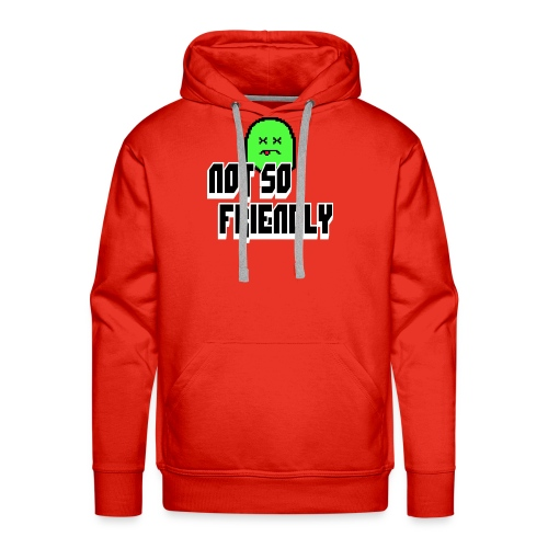 not_so_friendly_logo - Men's Premium Hoodie