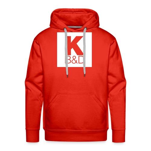 KBD_White - Men's Premium Hoodie