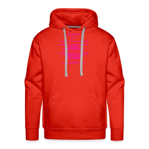 Proof for the Existence of God - Men's Premium Hoodie
