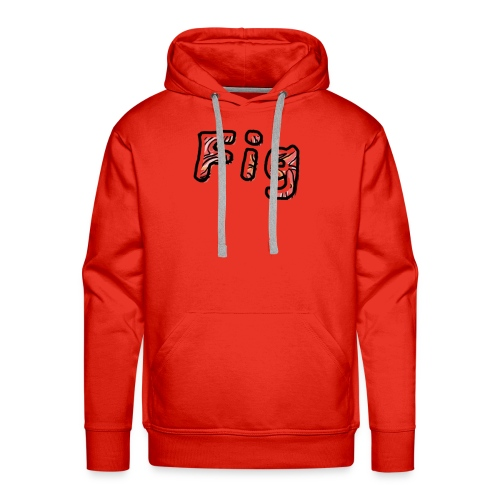Fig Logo - Men's Premium Hoodie