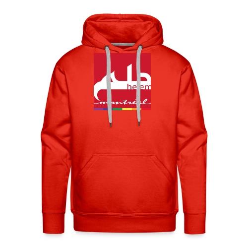Helem Montreal Logo - Men's Premium Hoodie