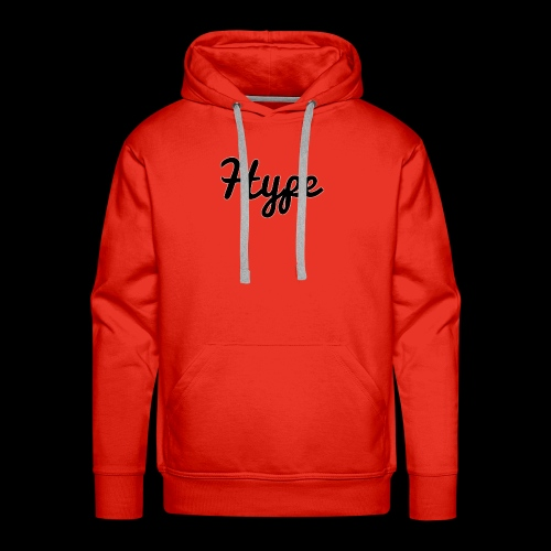 Hype Logo - Men's Premium Hoodie