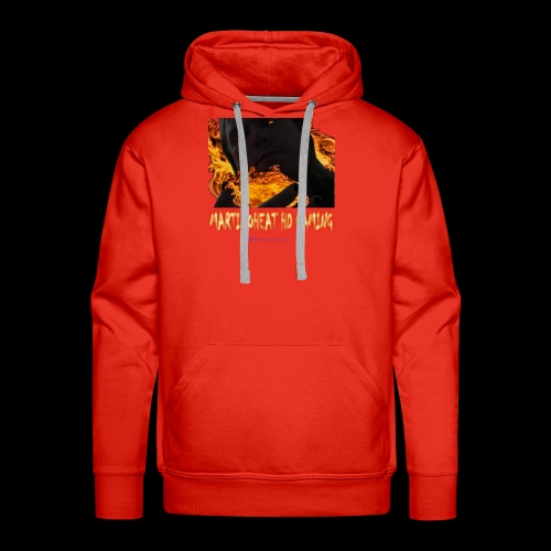 Martinoheat HD Gaming button - Men's Premium Hoodie