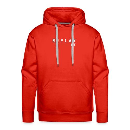 ReplayIt - Men's Premium Hoodie